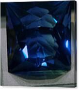 Bluetiful Fluorite Canvas Print
