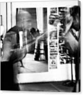 Blurred Training Canvas Print