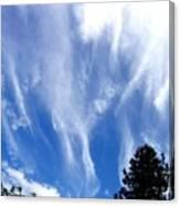 Blustery Sky Canvas Print