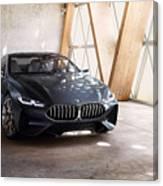Bmw Concept 8 Series 4k Canvas Print