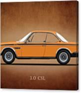 Bmw Csl 1972 Canvas Print