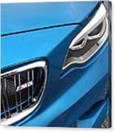 Bmw M2 Grille Canvas Print