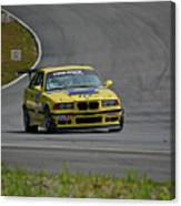 Bmw M3 Tire Rack Canvas Print