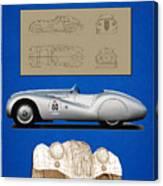 Bmw Mille Miglia Poster Canvas Print