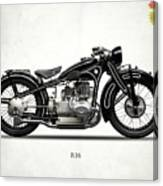 The R16 Motorcycle Canvas Print