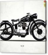 The R24 Motorcycle Canvas Print