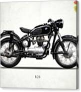 The R26 Motorcycle Canvas Print