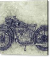 Bmw R32 - 1919 - Motorcycle Poster 1 - Automotive Art Canvas Print