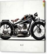 The R47 Motorcycle Canvas Print