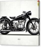 The R51 Motorcycle Canvas Print