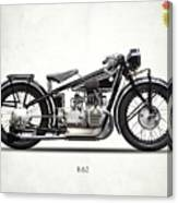 The R62 Motorcycle Canvas Print
