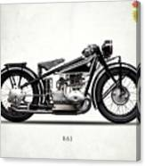 The R63 Motorcycle Canvas Print