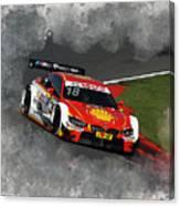 B M W Racing Canvas Print