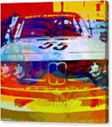 Bmw Racing Canvas Print