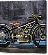 Bmw Vintage Motorcycle Canvas Print