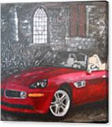 Bmw Z8 Canvas Print