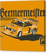 Bmw320 Gr5 Racing Canvas Print
