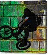 Bmx II Canvas Print