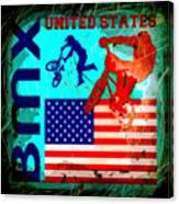 Bmx United States Canvas Print