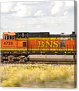 Bnsf Railway Engine Canvas Print