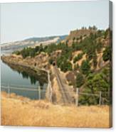 Bnsf Tunnel Canvas Print
