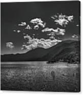 Bnw Lago De Coatepeque - El Salvador V Canvas Print