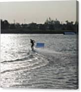 Board Jump Canvas Print