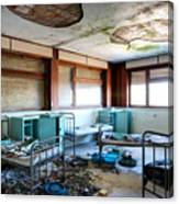 Boarding School Nightmare - Abandoned Building Canvas Print