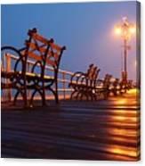Boardwalk Canvas Print