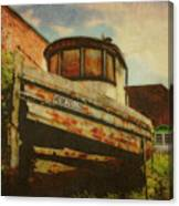 Boat At Apalachicola Canvas Print