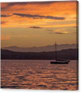 Boat By Holywood Canvas Print