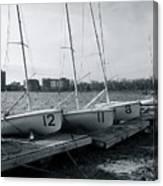 Boat Club #1 Canvas Print