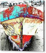 Boat Dalia, Puerta Vallarta, Mexico Canvas Print