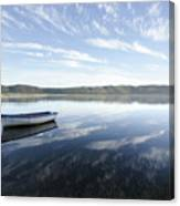 Boat On Knysna Lagoon Canvas Print