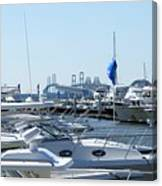 Boat Show On The Bay Canvas Print