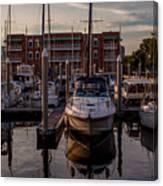 Boat Slip Canvas Print