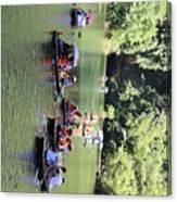 Boat Tours Tam Coc Vietnam  Canvas Print
