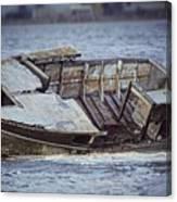 Boat Wreck Canvas Print