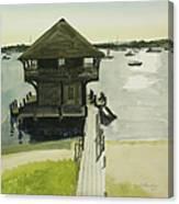 Boathose, Edgartown, Martha's Vineyard Canvas Print