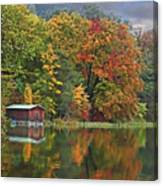 Boathouse Canvas Print