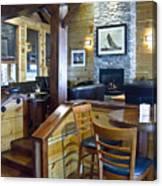 Boathouse Restaurant Canvas Print