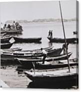 Boatmen Canvas Print