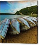 Boats At Rest Canvas Print