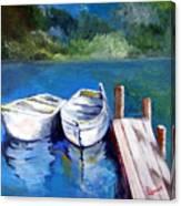 Boats Docked Canvas Print