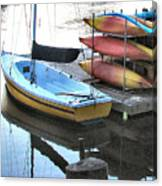 Boats For Rent Canvas Print