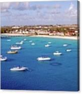 Boats  Grand Turk Canvas Print