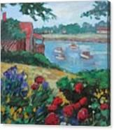 Boats in Ogunquit Canvas Print