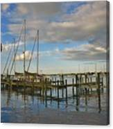Boatworks 3 Canvas Print