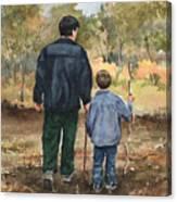 Bob And Alex Canvas Print