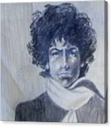 Bob Dylan In The Rock Years Canvas Print